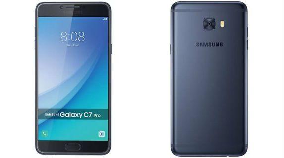 Samsung Galaxy C7 Pro overall