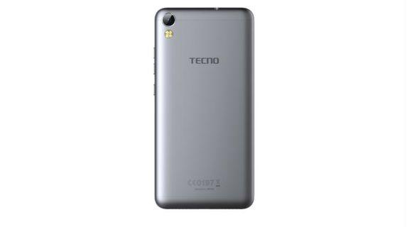 Tecno i3 Pro back