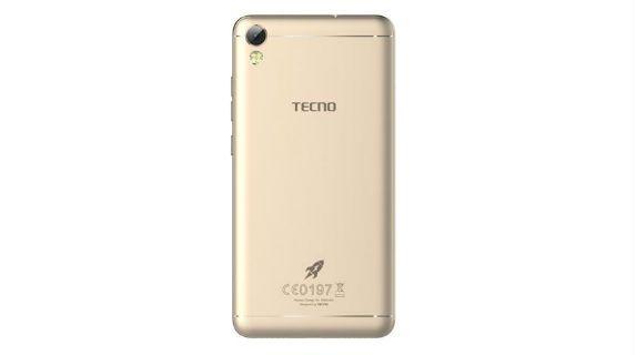 Tecno i5 Pro back