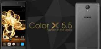 Zopo Color X 55 overall