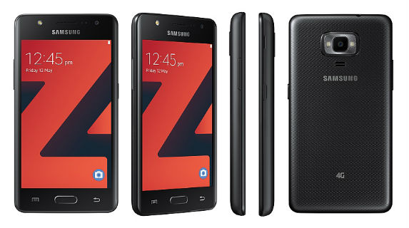 Samsung Z4 with Tizen OS, 4G VoLTE Support launched for Rs 5790