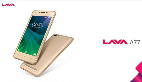 Lava A77 featuring Selfie flash launched for Rs. 4999