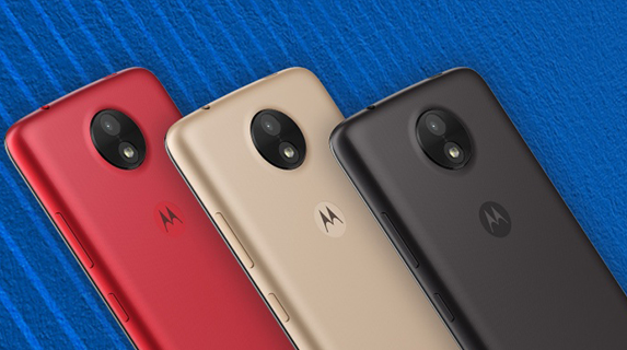 Motorola Moto C back