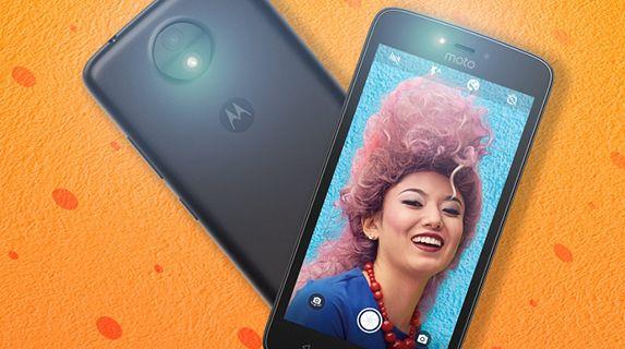 Motorola Moto C front