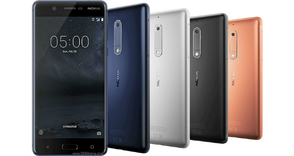 Nokia 5 Colors