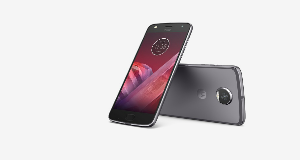 motorola moto z2 play front and back