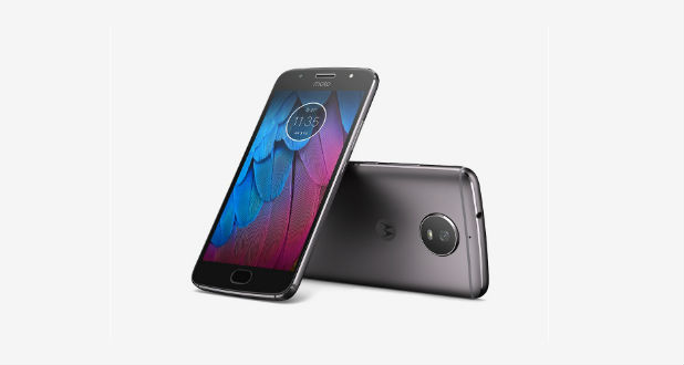 Moto G5S plus Front Back