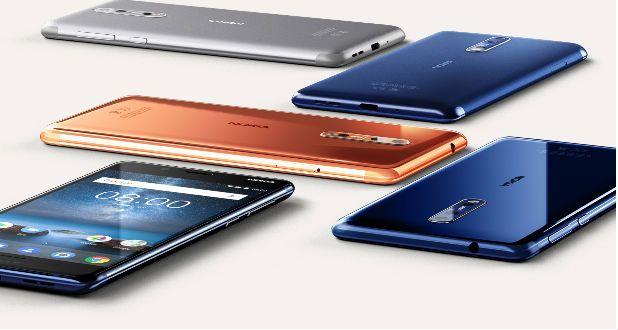 Nokia 8 colours