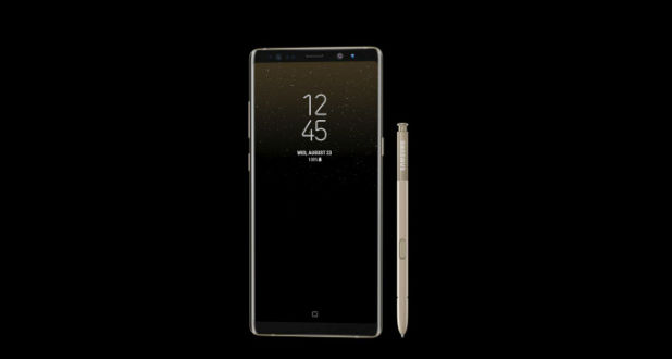 galaxy note 8 front