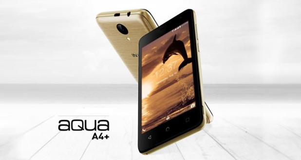 Intex Aqua A4+ with Android Nougat launched for Rs. 3,999