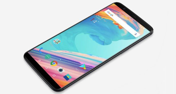 One Plus 5T Front