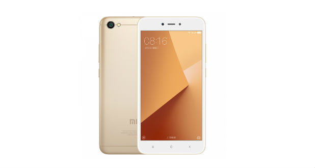 Redmi Y1 front back