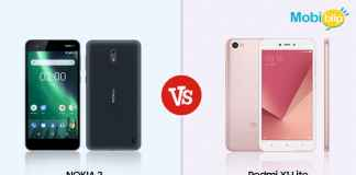 Nokia 2 versus Redmi Y1 Lite