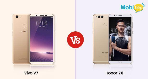 Vivo V7+ Versus Honor 7X
