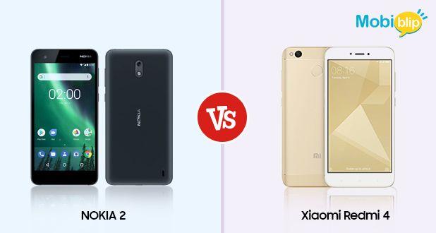 Nokia 2 vs Xiaomi Redmi 4