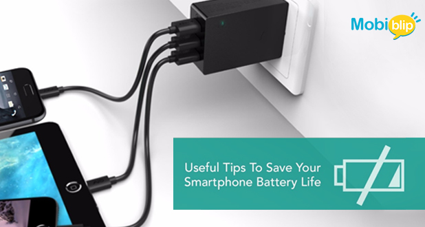 Tips to save your smart phone's battery