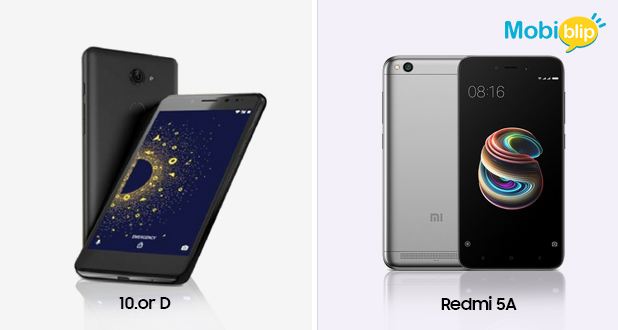 10.or D vs Redmi 5A