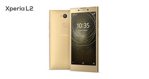 Sony Xperia L2 With Wide-Angle Selfie Camera Launched
