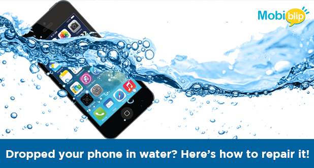 Dropped your phone in water? Here's how to repair it!
