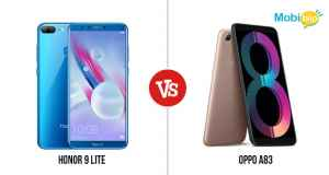 Honor 9 lite Versus Oppo A83