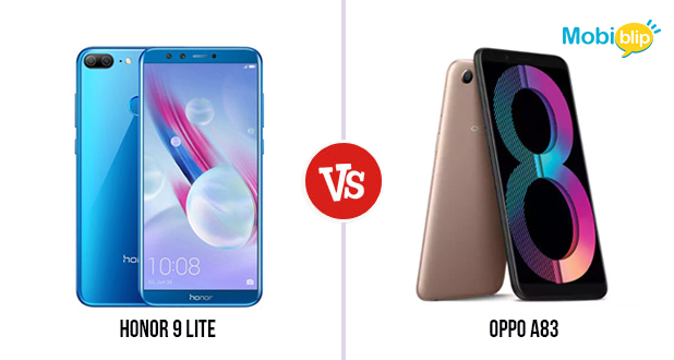 Honor 9 lite Versus Oppo A83: Which one to buy