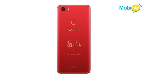 Vivo V7 Plus LE Red