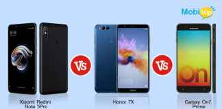 Redmi note 5 pro vs Honor 7x vs Galaxy On7 Prime