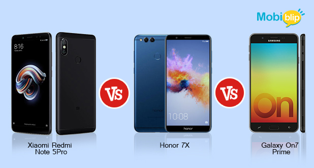 Xiaomi Redmi Note 5 Pro Vs Honor 7X Vs Galaxy on 7 Prime: Which is the best phone for you?