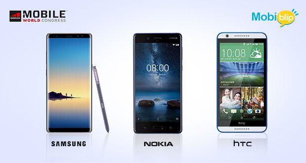 Samsung, Noika, HTC in MWC
