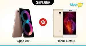 Oppo A83 VS Redmi Note 5