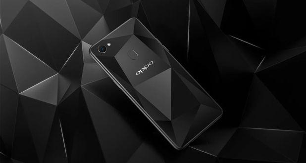 Oppo F7 Diamond Black Special Edition