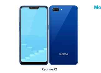 Just In: Realme C1 Launched