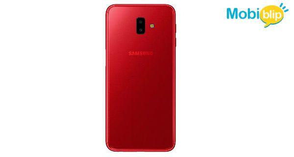 Samsung Galaxy J6 Plus Red Back