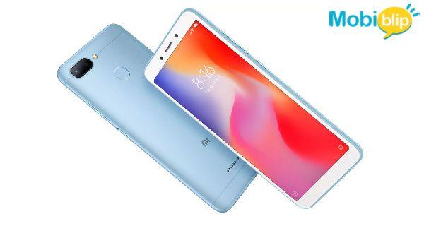 Xiaomi Redmi 6 Blue