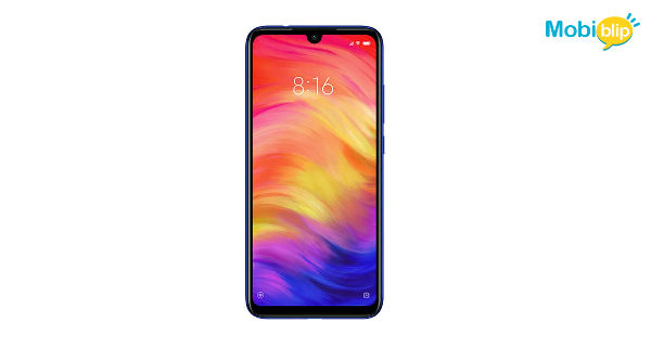 Xiaomi Redmi Note 7 Front View